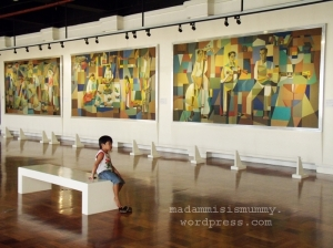 A room full of Manansala masterpieces